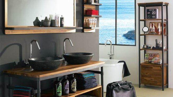 vasuqe. industriel salle de bain - Recherche Google | Appartement ...