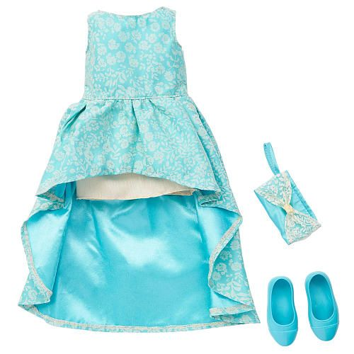 Toys R Us Journey Girls : Journey girls celebration outfit blue gown toys r us