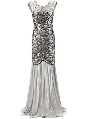 Mermaid V-Back Vintage Prom Dress | Vintage prom and Products