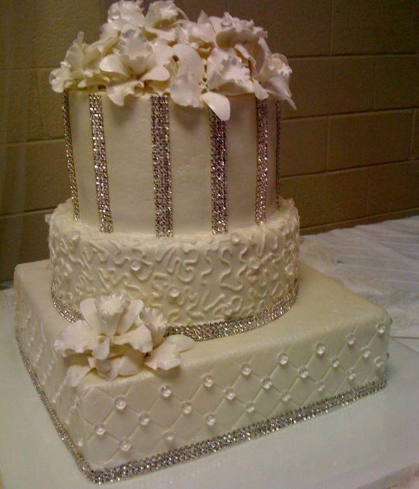 Wedding Cake Art, Bling Wedding Cakes