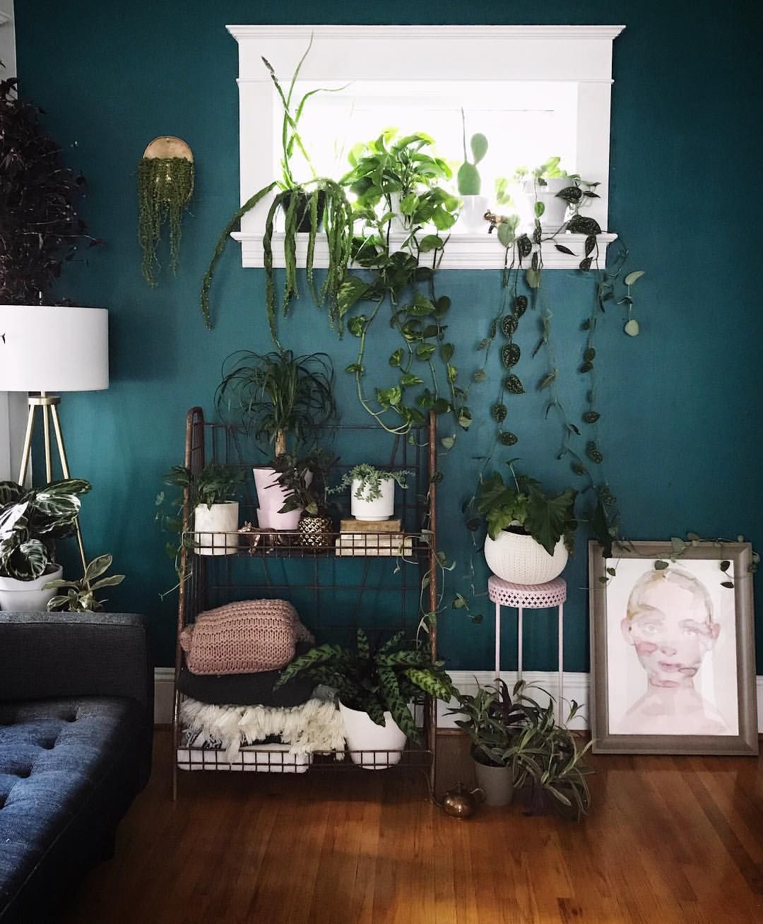 Paint color is Behr verdant forest. I want this to be my