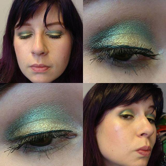 #moonshine #asteria #smaragd und #amazonit durften heute aufs Auge 🙃 #moonshinebeauty #moonshinemineralmakeup #eyesoftheday #eotd #eyes #eyemakeup #amu #augenmakeup #eyelook #makeupoftheday #face #faceoftheday #fotd #selfie #selfies #me #itsme