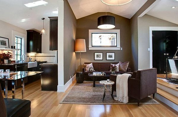 Muddy Tracks Decorating With Brown Brings Out The Best  Brown Stunning Brown Living Room Design Inspiration