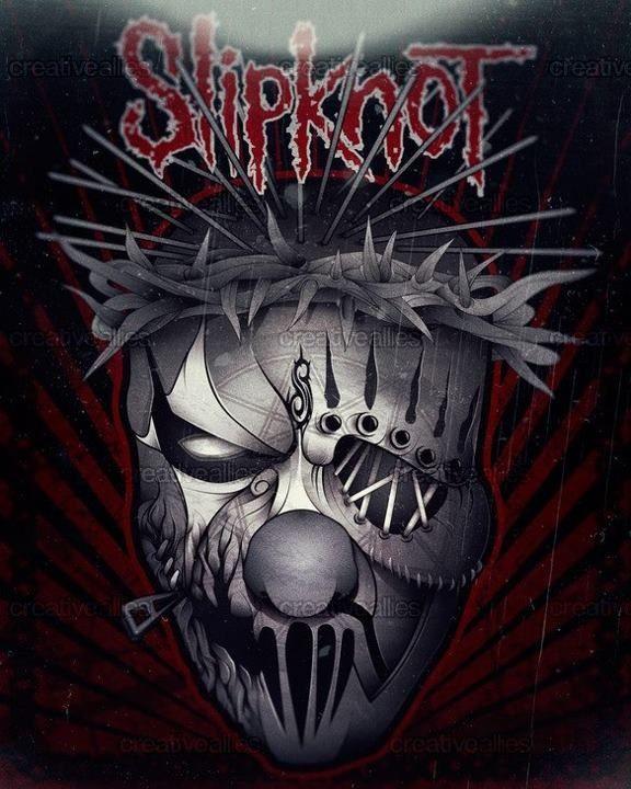 Slipknot i loved this draw illustration metal