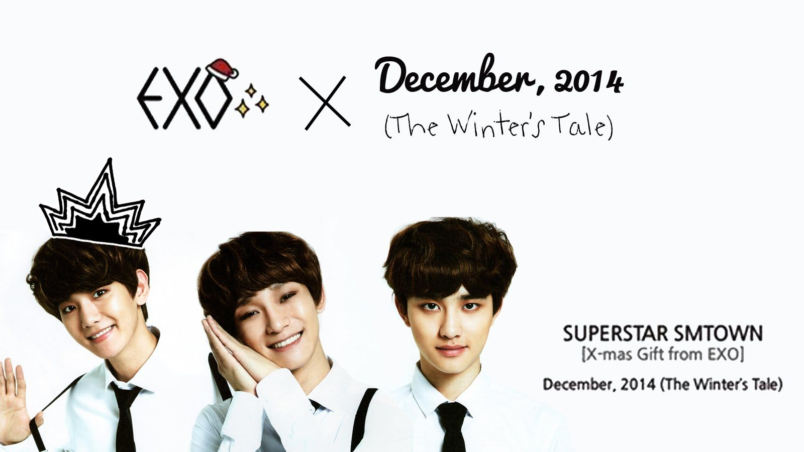 [ENG/FULL] EXO 백현, 디오, 첸 December, 2014 (The Winters Tale) Lyrics Korean Version HAN/ROM/ENG