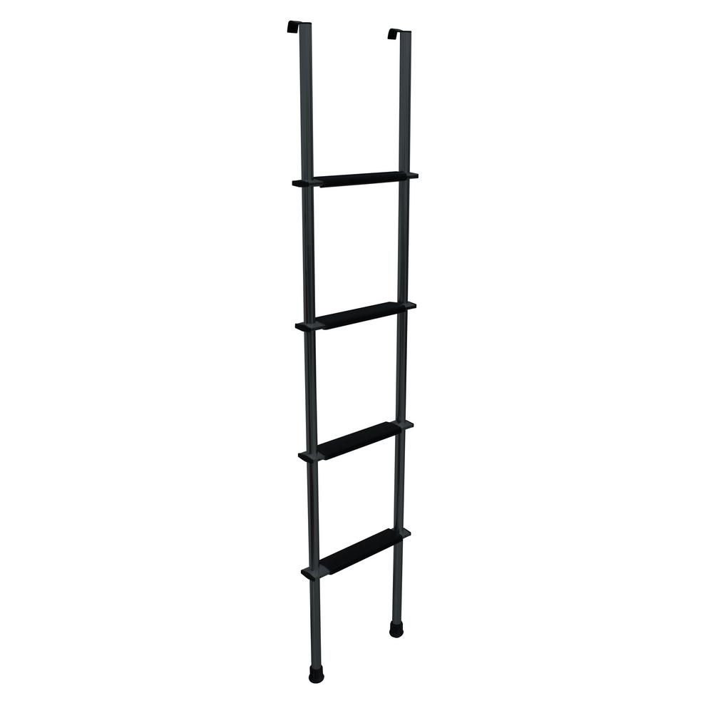 Quick Products Rv Bunk Ladder 60 In Black Qp La 460b The Home Depot Bunk Bed Ladder Ladder Bunks