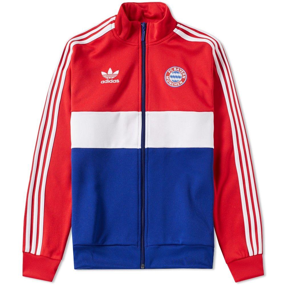 Adidas Bayern Track Top | Adidas, Custom made clothing, Tops