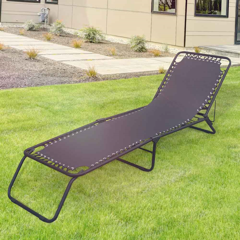 Astonishing Details About Black Folding Garden Sun Lounger Portable Ncnpc Chair Design For Home Ncnpcorg