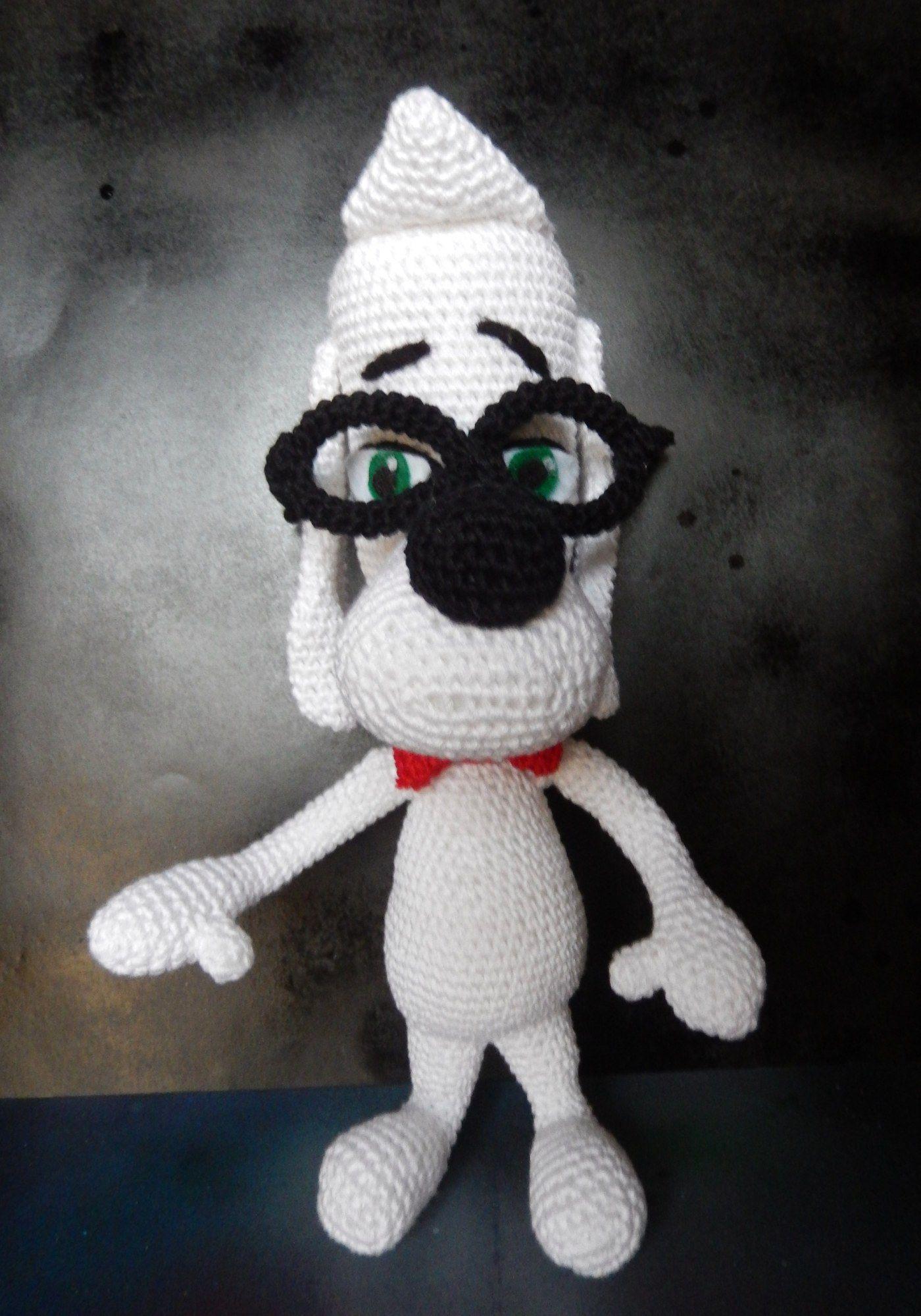 Mr. Peabody. Free Download | Amigurumi | Pinterest | Häkeln
