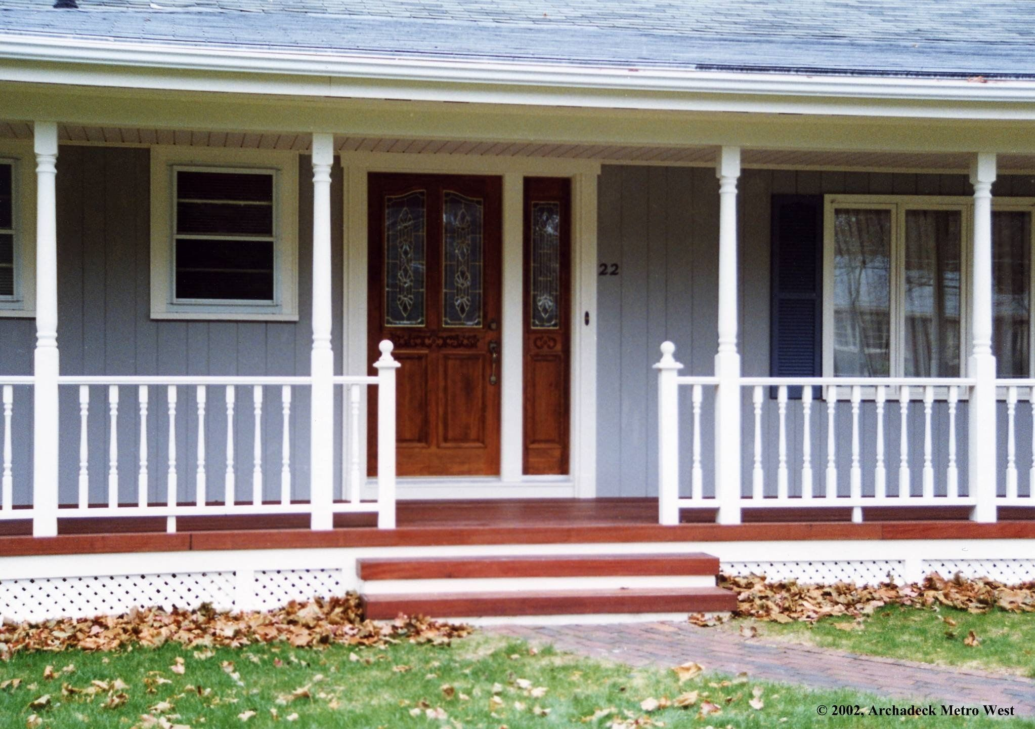 Image Of Six Kinds Of Porches For Your Home Suburban Boston Decks And With Regard To Adding A Porch To A Ranch Style House Adding A Por House With Porch Ranch