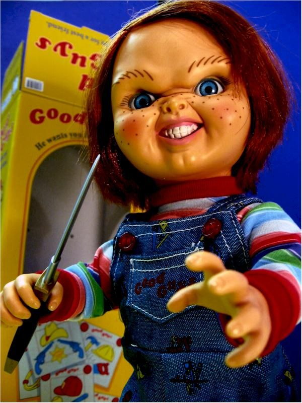 Chucky Doll Toy for 10.00 | Child's Play Chucky action ...