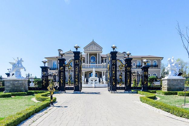 17 8 Million Vaughan Mansion Mansions Luxury Homes Dream Houses Dream Mansion