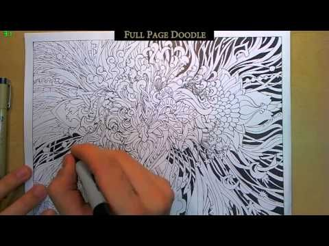 Epic Full-Page Doodle (With some Doodle Tips!) - YouTube