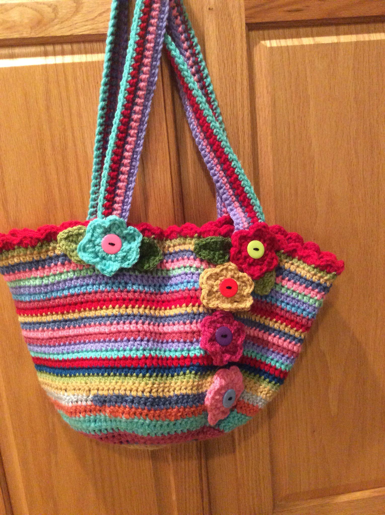 Crochet Bag. Pattern by Attic24.Com Yarn by Stylecraft Special DK ...