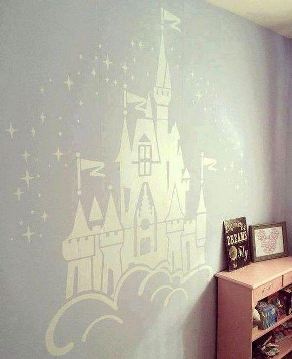 40 Girl S Bedroom With Disney Themed Ideas En 2020 Avec Images