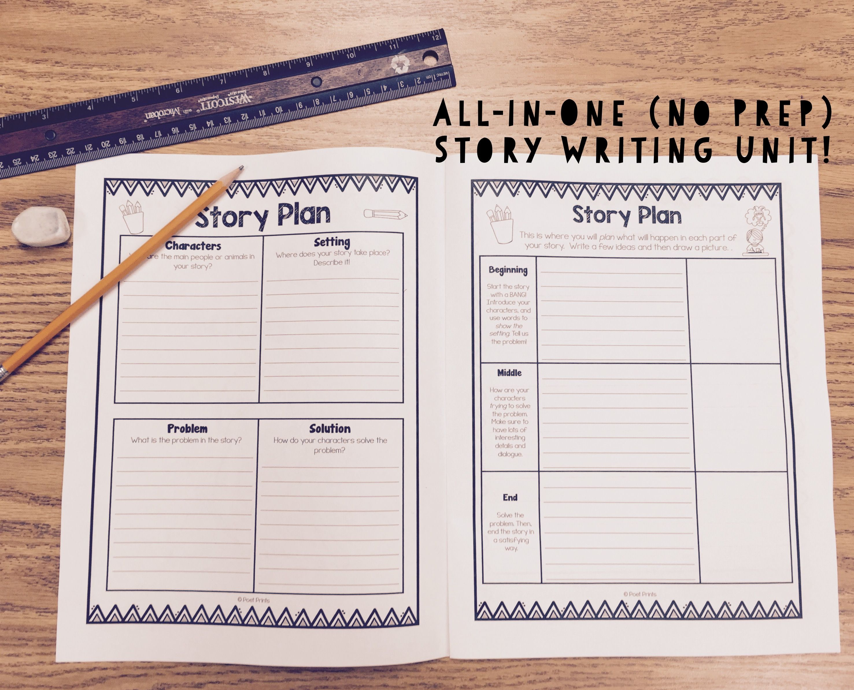 Creative Story Writing Narrative Pack