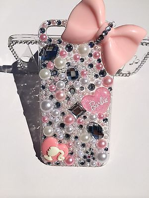 Glam-Bling-Iphone-5s-Case-Pink-Bow-Pearls-and-Rhinestones-Front-and-Back-Case