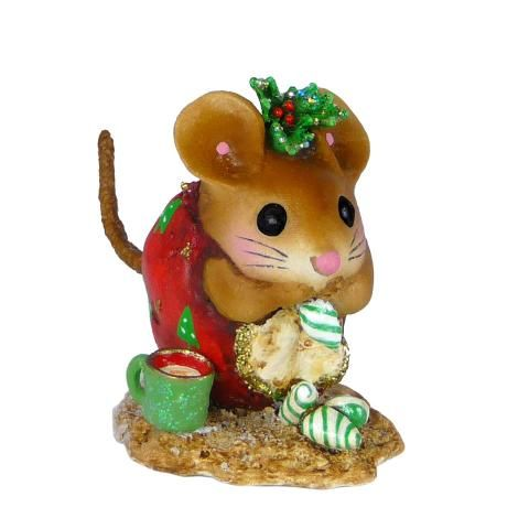 Christmas Nibble Mouse - red | Wee Forest Folk