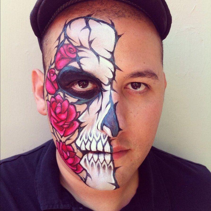 44++ Skull facepaint ideas