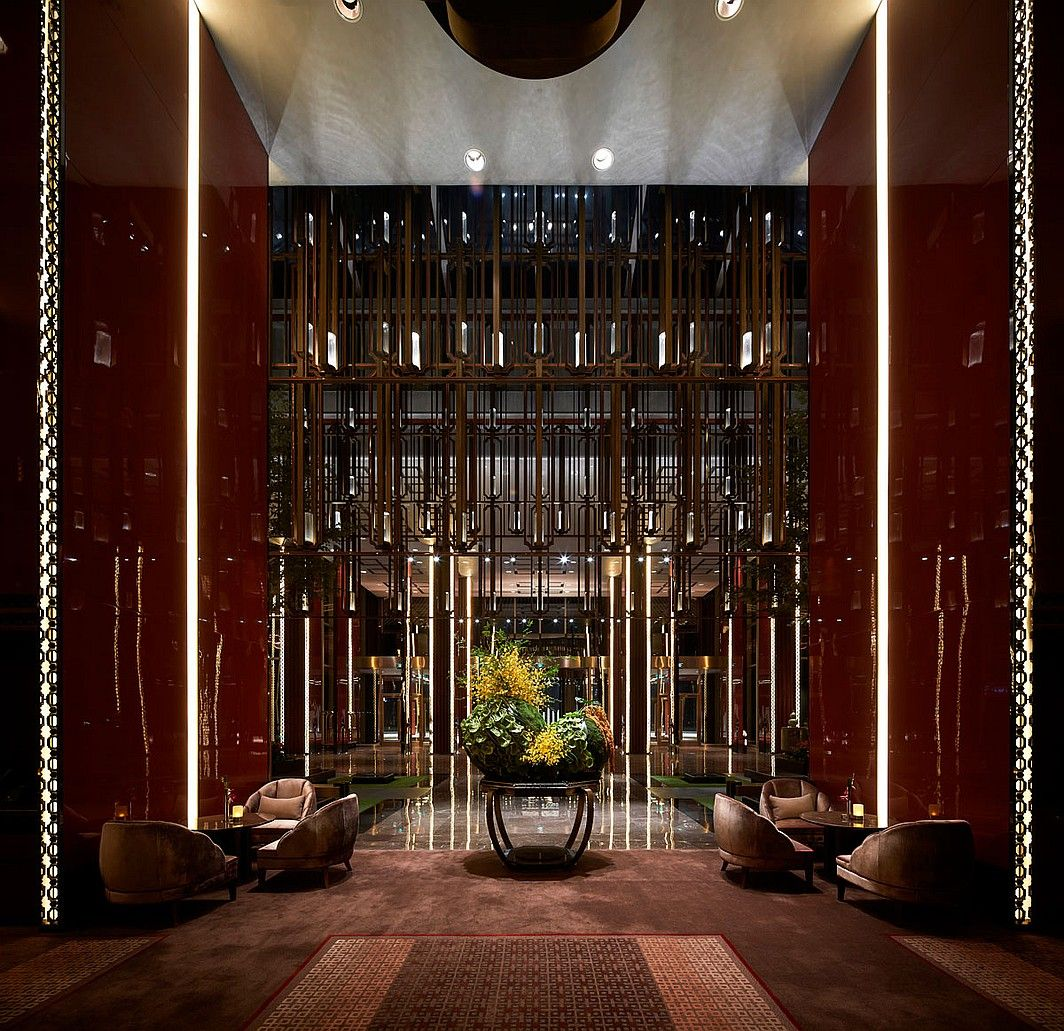 Hospitality Giants | Shangri-la Hotel in Qufu, China, by AB Concept. #design #interiordesign #interiordesignmagazine #hotel #architecture #decor