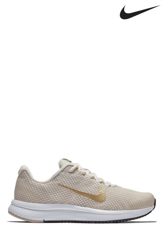 Womens Nike Run Cream/Gold Runallday - Grey | Products | Nike women ...