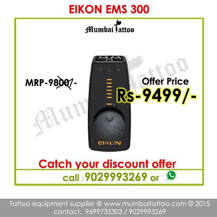 mumbai tattoo sale eikon ems 300 power supply offer price in