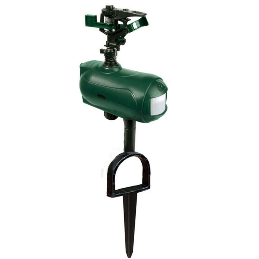 Spray Away Motion Activated Sprinkler Animal Repellent