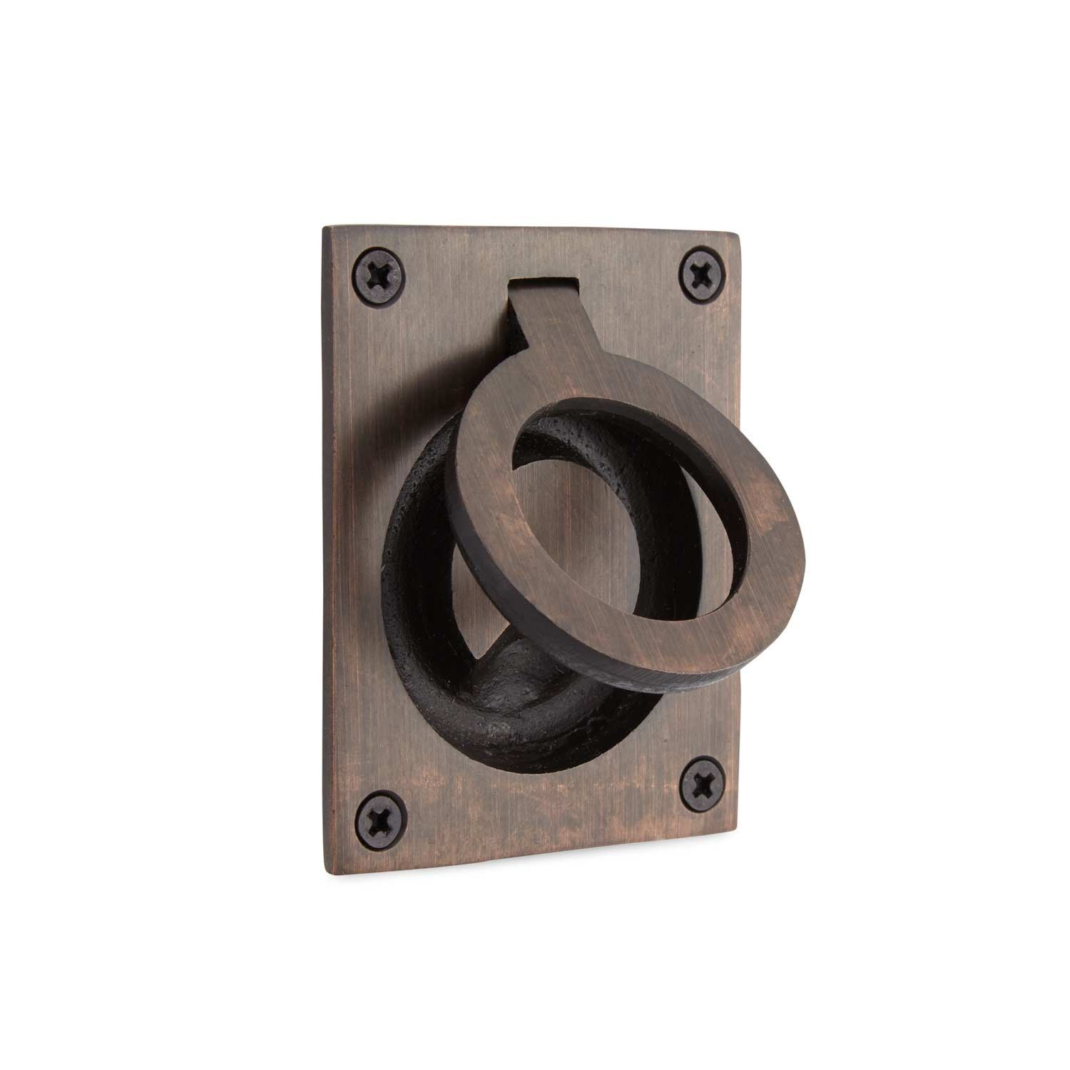 Rectangular Recessed Pull with Flush Ring | Comprar y Cosas