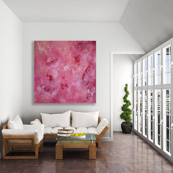 Original abstract painting created in my studio, Calgary, Canada ...