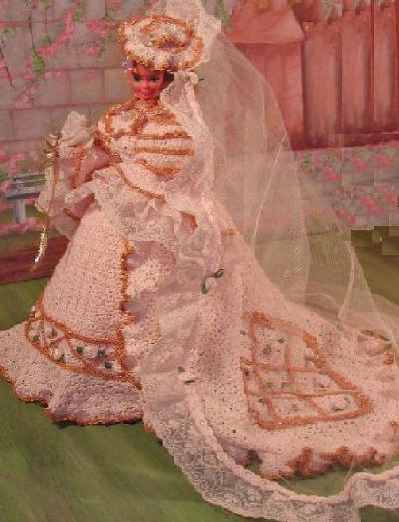 Crochet Fashion Doll Barbie Pattern 31 By Judysdollpatterns