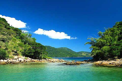 Ilha Grande Lagoa Verde Ilha Grande Lugares Maravilhosos