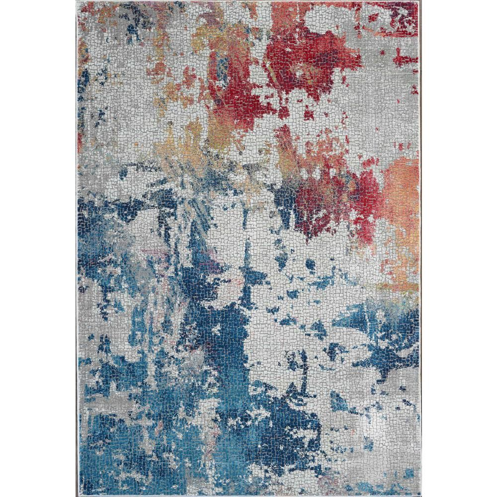 Nourison Global Vintage Multicolor 2 ft. x 4 ft. Small Abstract Area Rug #ankarastil