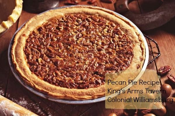 My christmas card to you pecan pie recipe from colonial my christmas card to you pecan pie recipe from colonial williamsburg forumfinder Choice Image