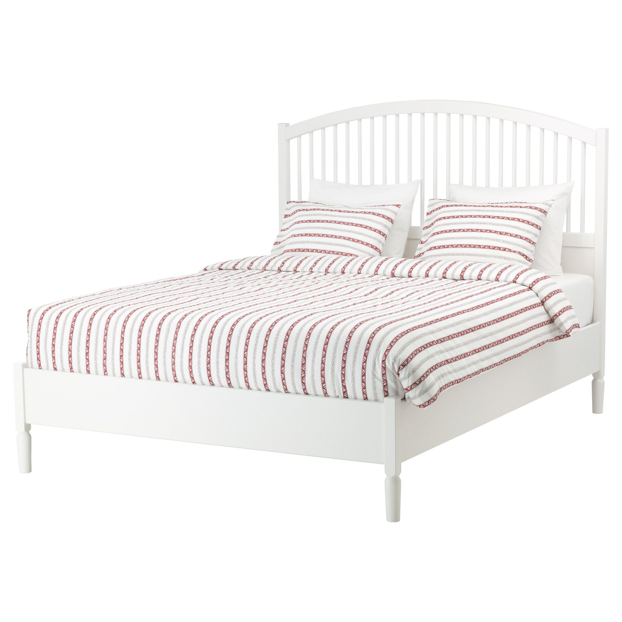 TYSSEDAL Bed frame, white | Bed frames, Adjustable beds and Mattress