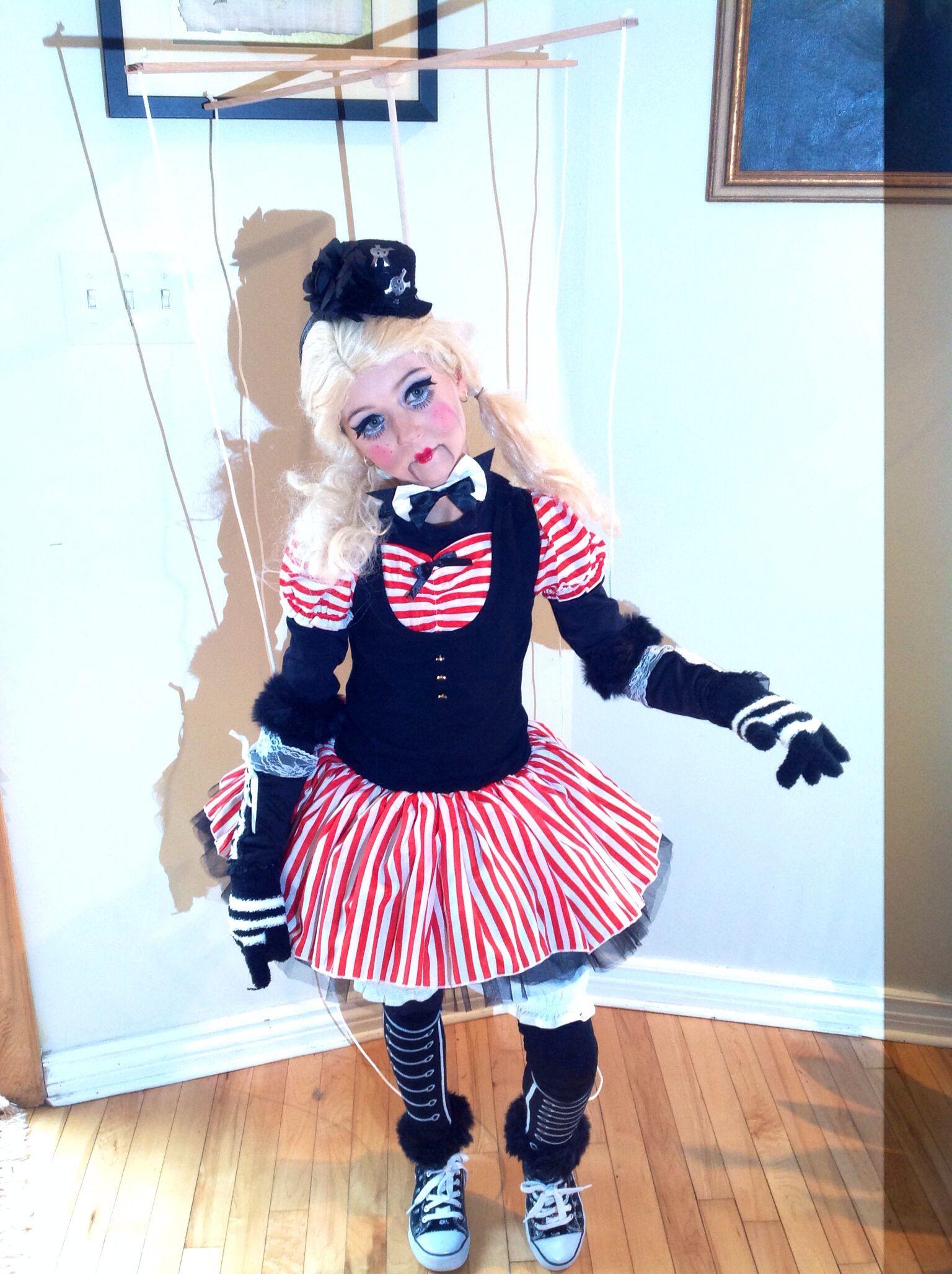 marionette costume puppet halloween pinte. Black Bedroom Furniture Sets. Home Design Ideas