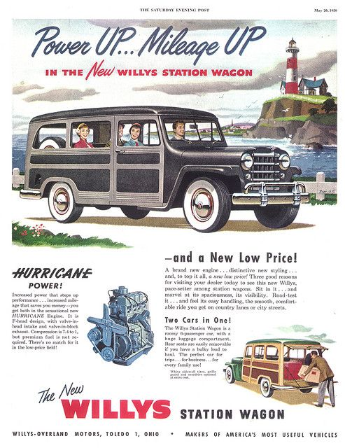 Willys Overland Jeep Station Wagon Willys Wagon Willys