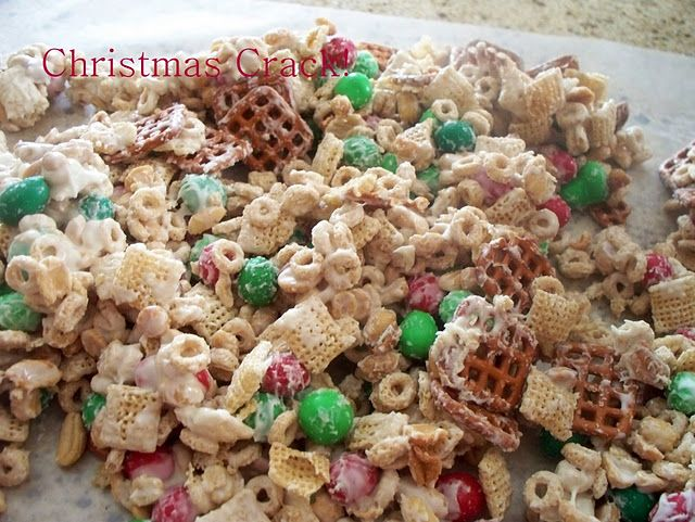 christmas crack recipe with pretzels