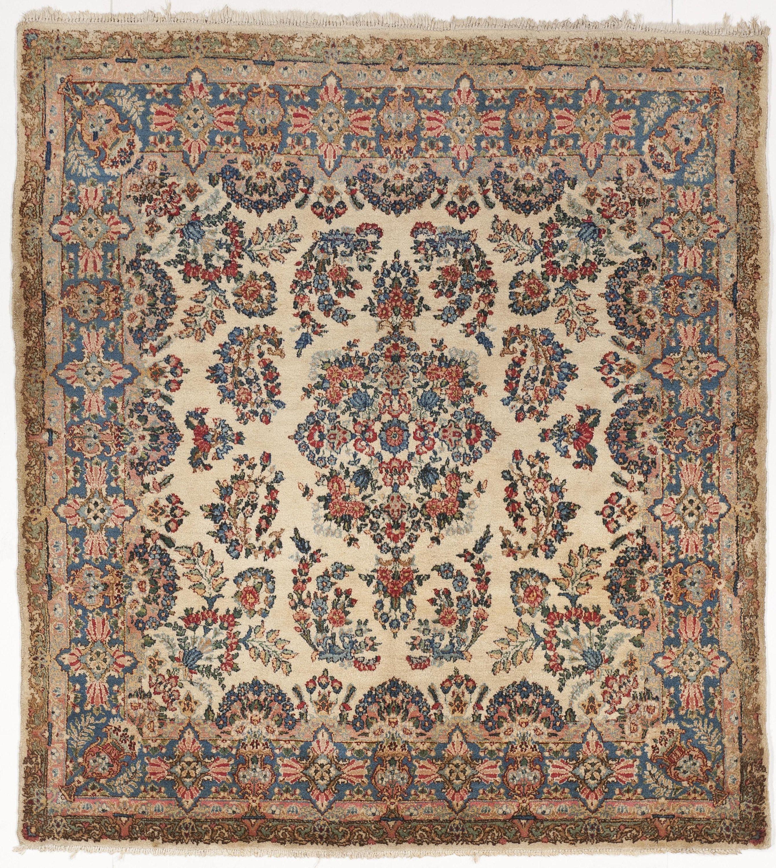 Antique Persian Kerman Rug X