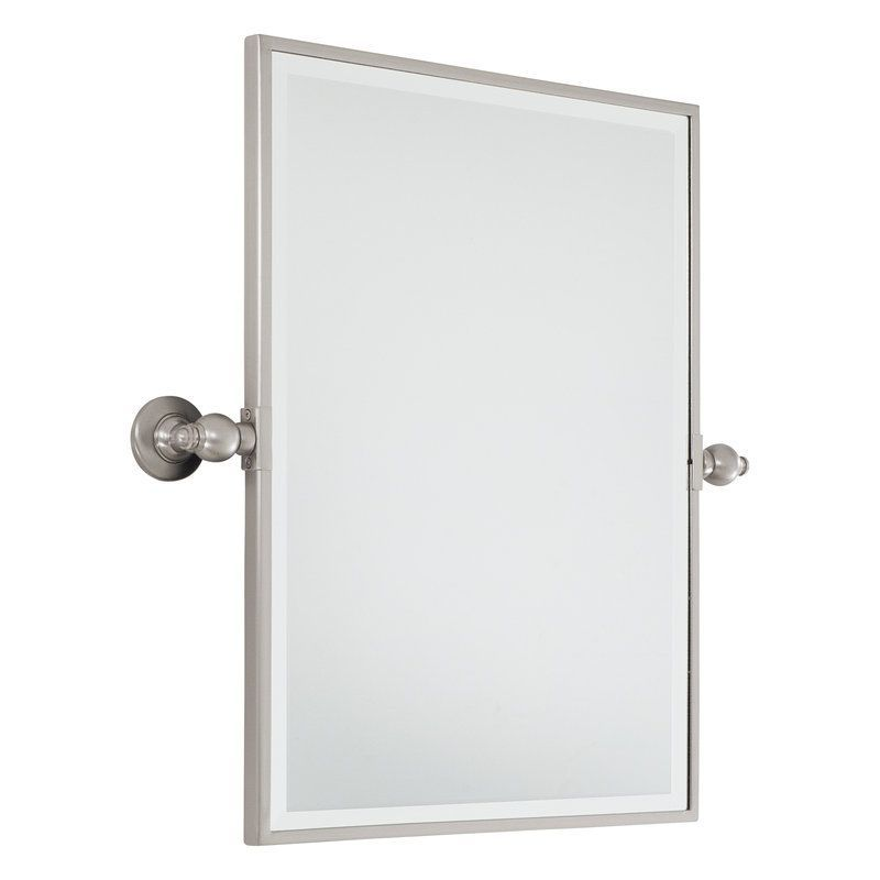 Minka Lavery 1440 Standard Rectangle Pivoting Bathroom Mirror