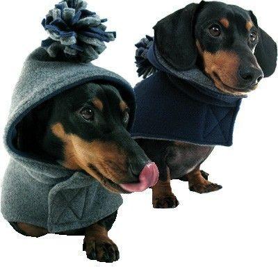 Eco Dog Coat Recycled Navy Blue Gray Fleece Medium Dog Coats