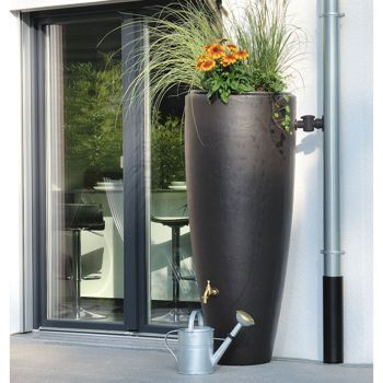 Costco Moderne 79 Gallon Rain Barrel Planter And Planter