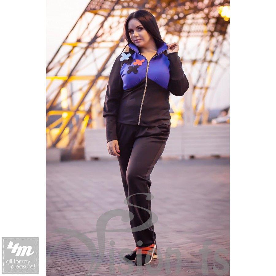 Костюм VisionFS «Триша 15422 C» http://lnk.al/4y4V  Изысканный и модный костюм «Триша» для модниц, которые предпочитают спортивный стиль жизни! Костюм очень удобен, приятный в носке! Смешные цветочки прекрасно украшают мастерку костюма и добавляют позитива Вашей жизни! В брюках предусмотрены два кармана!  #спорт #тренировки #зал #спортивныйкостюм #мода #вещи #одеждаУкраина #4m #4mcomua