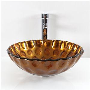 Waschbecken rund glas  EU Lager)Modern Glas Waschbecken Rund Stilvoll | Glas Waschbecken ...
