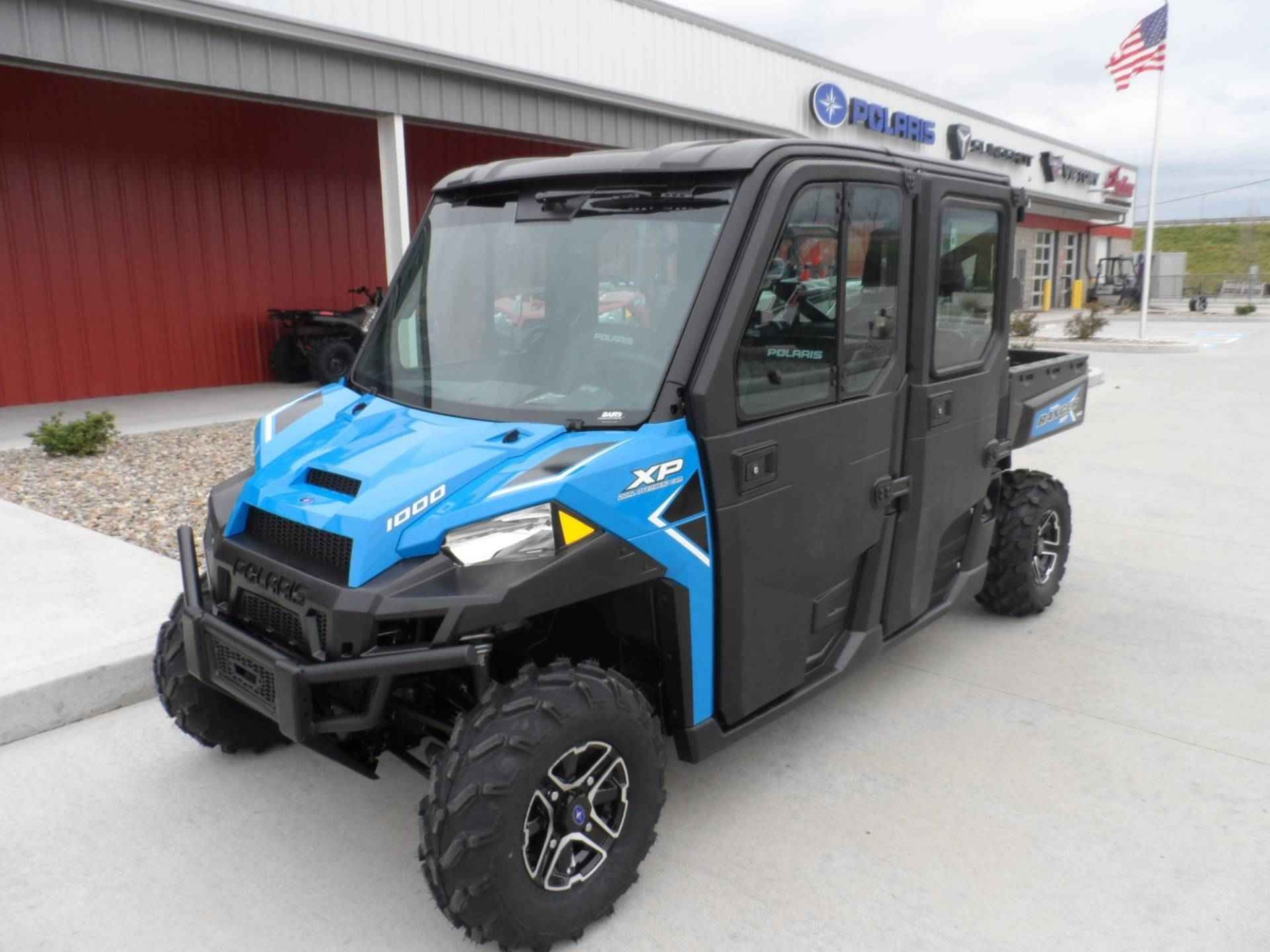 New 2017 Polaris Ranger Crew® XP 1000 EPS Northstar HVAC