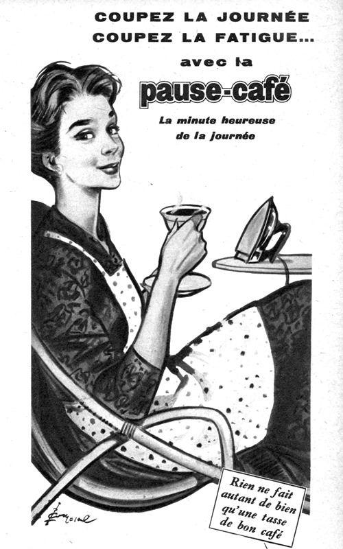 Pause Café 1960 Couronne