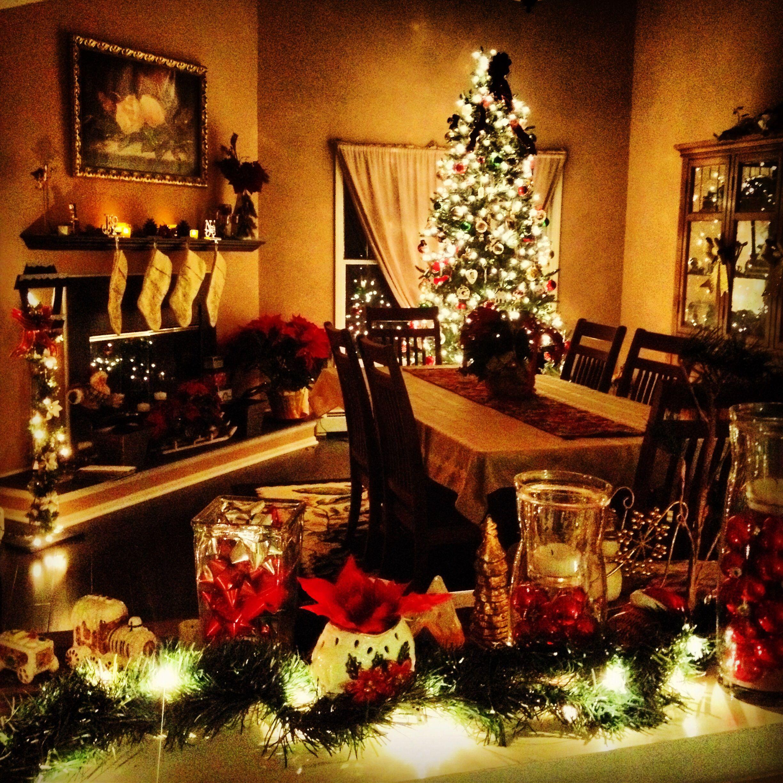 Wedding decorations gate  Beautiful Christmas Scene home themostwonderfultimeoftheyear