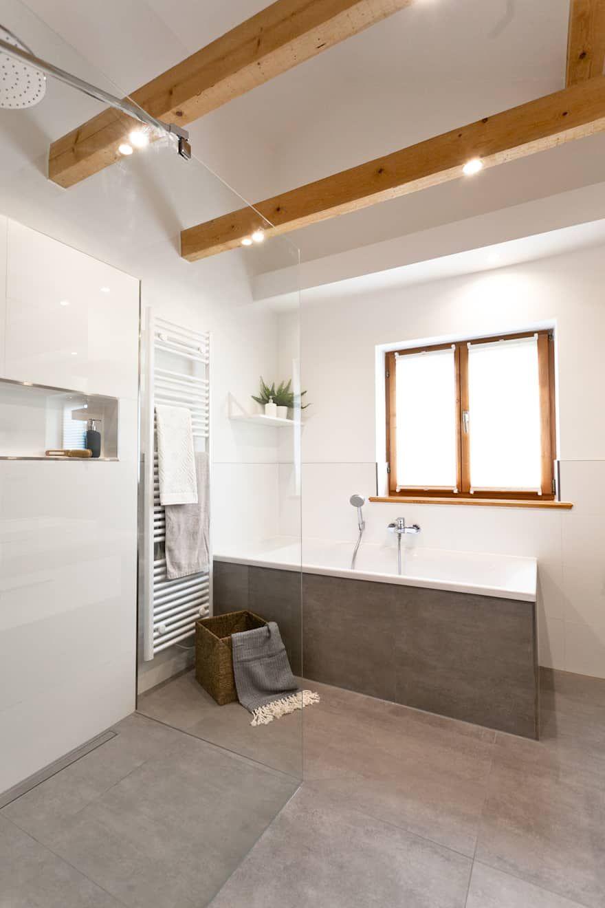 Badezimmer ideen design und bilder bathroom moderne for Fliesen badezimmer design