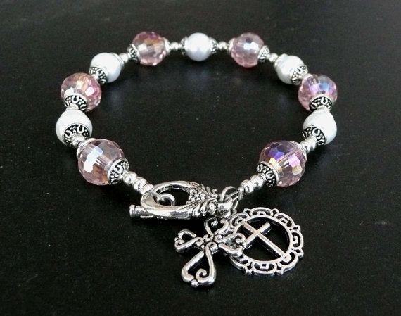 Genuine Pink Austrian AB Crystal Glass Pearl by IslandGirl77