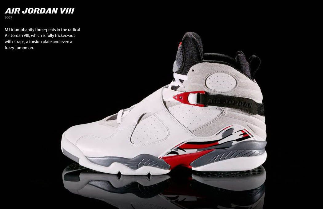 jordans shoes | The Air Jordan VIII's were the heaviest Air Jordans ever  made. They