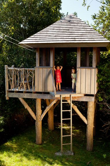Oyster Pond Treehouse Falmouth Ma Jnarchitects This